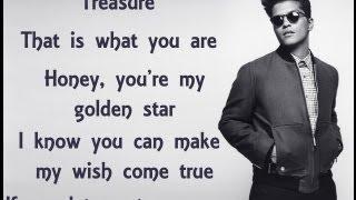 Treasure - Bruno Mars (Lyric Video)