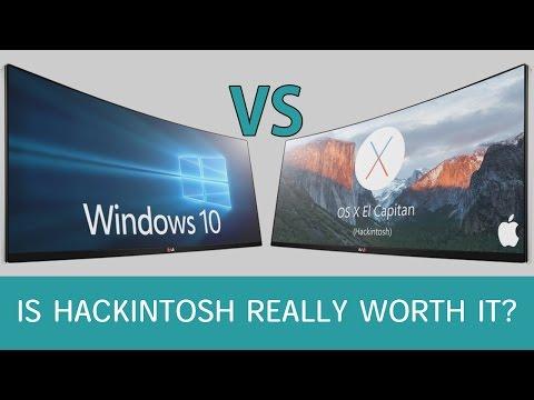 Windows 10 VS Mac OSX - Hackintosh OS Performance Test