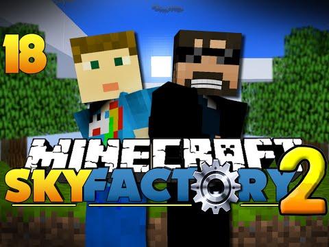 Minecraft SkyFactory 2 - MAGICAL EXPLOITS?![18]