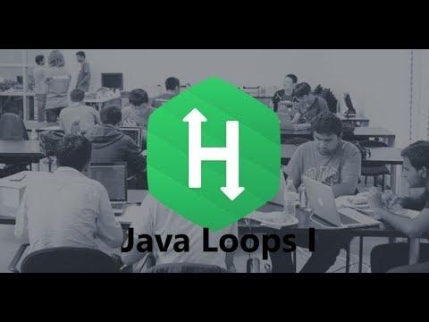 6. Java Loops I - Introduction    Java    Hackerrank