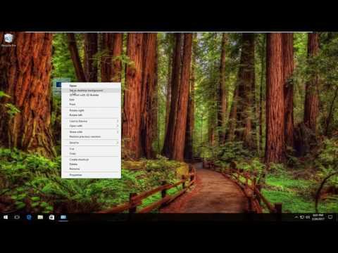 How To Change Desktop Wallpaper In Windows 10