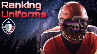 Alliance of American Football Uniform Ranking