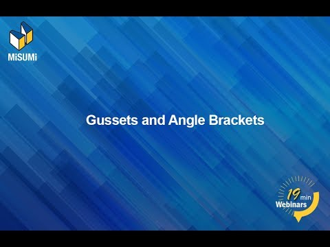 Designing with Gussets and Angle Brackets