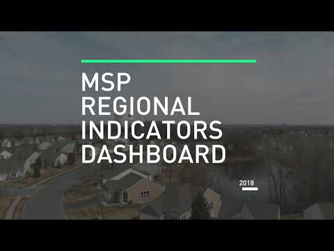2018 MSP Regional Indicators Dashboard