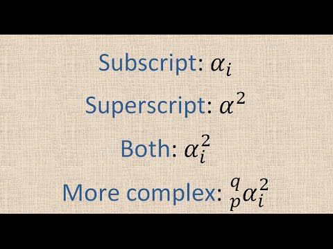 How to use Equation editor in Ms Office (similar to LaTeX): Super script and subscript