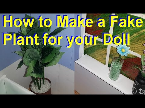 Barbie - How to Make a Fake Plant