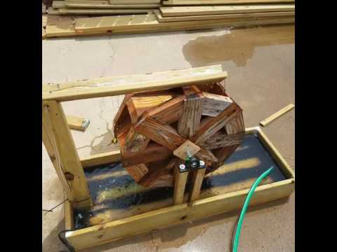 Water wheel preview