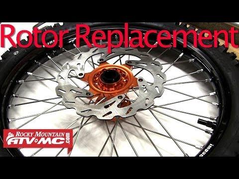 Motorcycle Brake Rotor Replacement