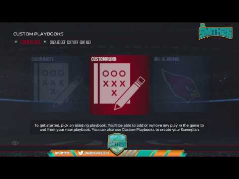Madden 17 Tips | Building The Perfect CFM Scheme | Custom Playbook Modification