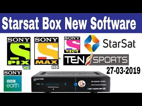Starsat hyper new Software new Version Sony network - PakVim