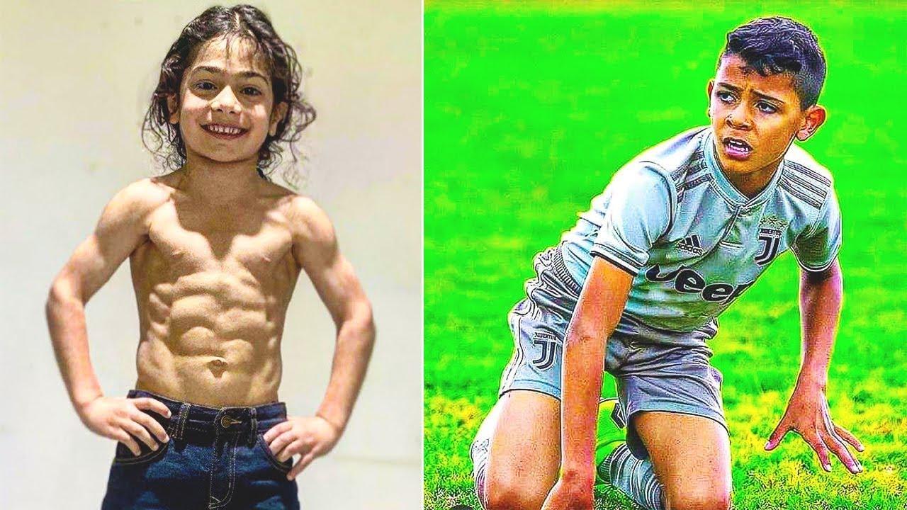 ¡Partido de ARAT HOSSEINI contra CRISTIANO RONALDO JR! ¡Messi iraní contra Cristiano Ronaldo hijo!