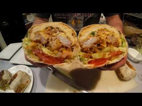 Shrimp Po' Boy Burrito