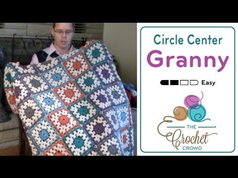How To Crochet Granny Squares - Circle Centers