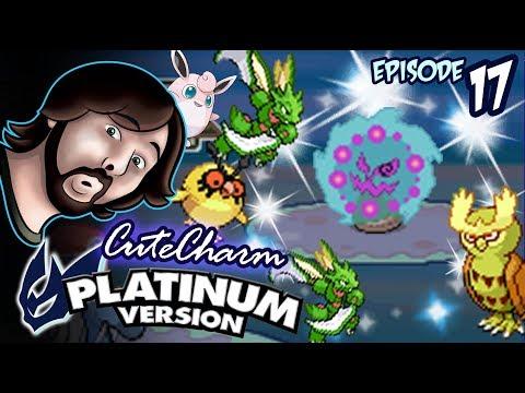 Shiny Spiritomb's Curse + Scyther's Return! Ep.17 Platinum Cute Charm