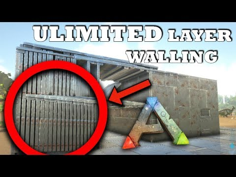Ark: SE - Unlimited Layered Walls | Become Annoying to Raid | PVP Building Tips