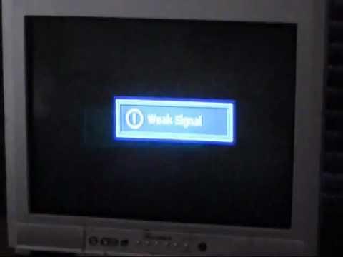 DIGITAL BROADCAST TV DOES NOT WORK