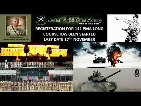 JOIN ARMY PK (141-PMA-LONG COURSE) ONLINE REGISTRATION COMPLETE PROCESS 2017