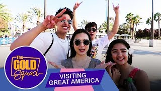 THE GOLD SQUAD VISITS GREAT AMERICA | The Gold Squad