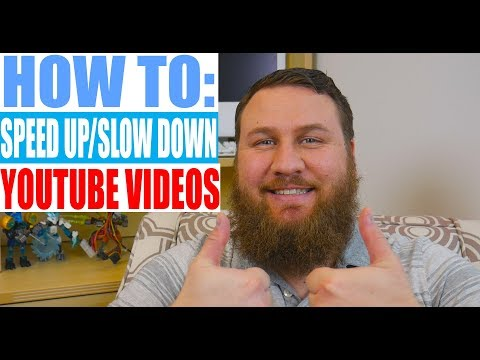How to Speed-Up or Slow-Down ANY YouTube Video
