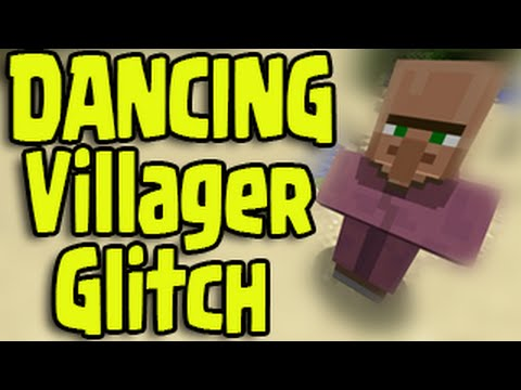 Minecraft PS3, PS4, Xbox - DANCING VILLAGER GLITCH