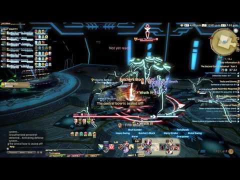 FINAL FANTASY XIV The Second Coil Of Bahamut Turn 3