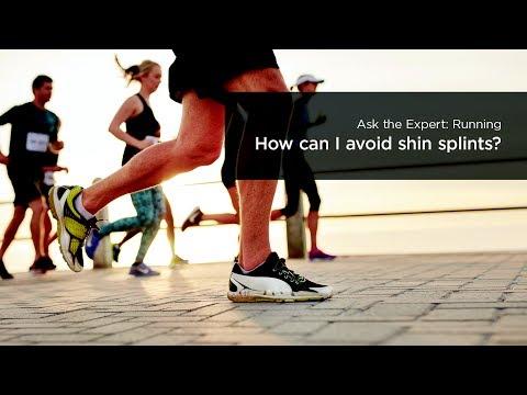 How can I avoid shin splints?