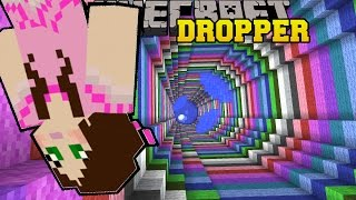 Minecraft: RAINBOW SWIRL! - TALLCRAFT DROPPER - Custom Map [8]