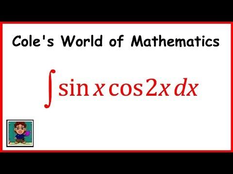 Integral of (sinx cos2x) ❖ Calculus 1 ❖ Trig Integrals