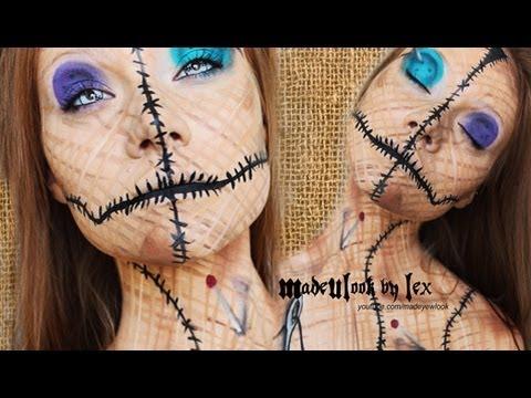 Voodoo Doll Makeup Tutorial (Original)