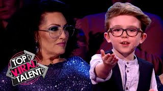 9-YEAR-OLD MAGICIAN leaves the JUDGES STUNNED!