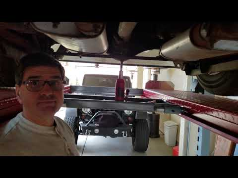 How to determine rear gear ratio on a sure grip differential.