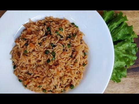 तीखा ज़ायकेदार शेजवान फ्राइड राइस   Veg Schezwan Fried Rice in Hindi @ Aapki Rasoi