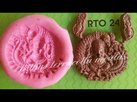 Moulds for sale / clay jewellery molds / terracotta jewellery design molds