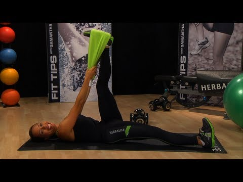Improve your running with Samantha Clayton's hamstring exercises   Herbalife Fit Tips