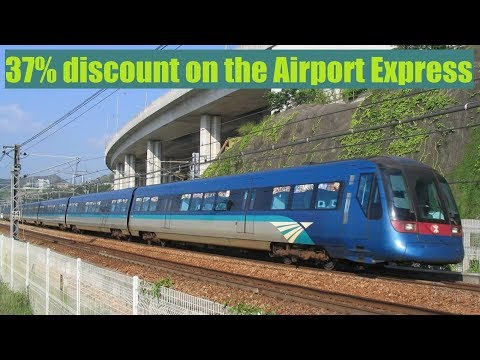 How to buy Hong Kong Airport Express Tickets Online at a 37% discount
