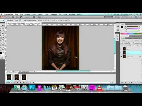 ((Photoshop CS5 Tutorial)): HOW TO MAKE A GIF
