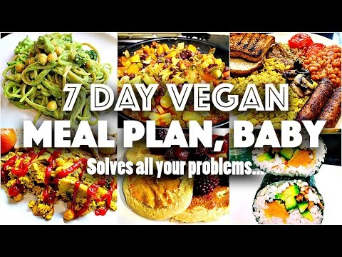 7 DAY VEGAN CHALLENGE MEAL PLAN (Easy, go-to recipes)