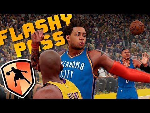 NBA 2K16 Badge Hunter - Flashy Pass: How & Why You Need It