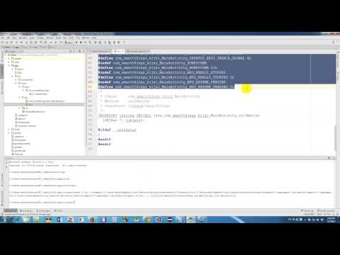 Adding JNI C Native into Android project in Android Studio 1 3 Beta