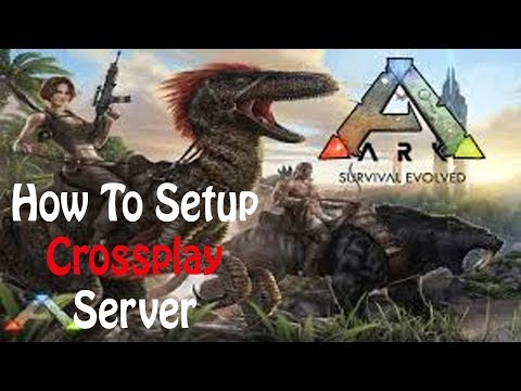 Ark Survival Evolved - How To Host PC Server For Xbox One With Admin Commands And CrossPlay