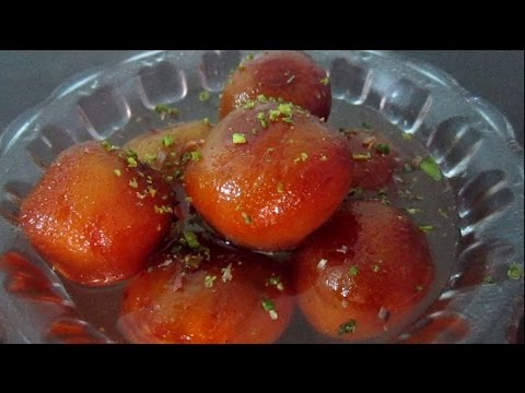 Bread gulab jamun with English subtitles