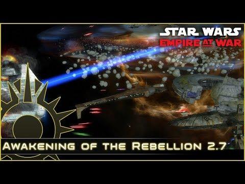 Taking on Telos - Ep 3 - Awakening of the Rebellion 2.7 - Star Wars Empire at War Mod