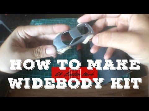 How to make Hot Wheels Widebody Kit: Liberty Walk Kit