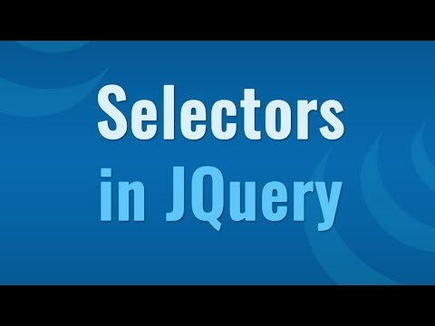 JQuery selectors to target html elements - Learn JQuery in Hindi