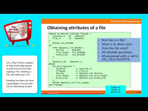 IO4: Rename, Move, Copy Files with UTL_FILE