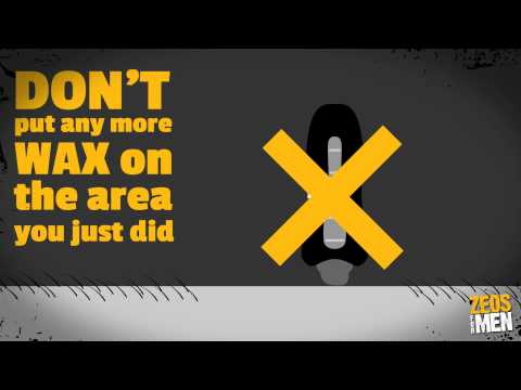 Zeos For Men Guide to waxing your chest Video - Mens hair removal