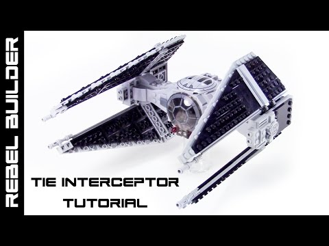 LEGO Star Wars TIE Interceptor Stop Motion Tutorial!