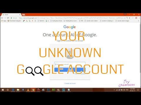 Find All Your Gmail Accounts ? That Use One Phone Number ! 2017