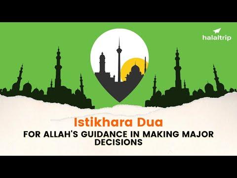 Dua Istikhara in Arabic with English Translation