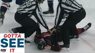 GOTTA SEE IT: Alex Ovechkin Throws Knockout Punch On Andrei Svechnikov